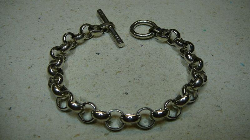 Mon premier bracelet Jaseron ( copie ) P1070710