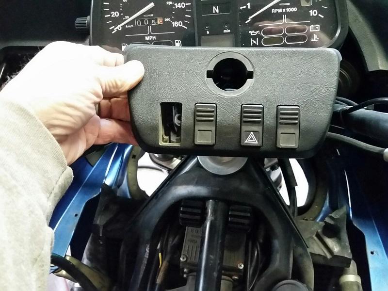 Manual Fan Switch for K100RT 20171114