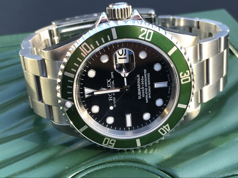 [VENDS] Rolex Submariner 16610 Lunette Verte  Img_5811