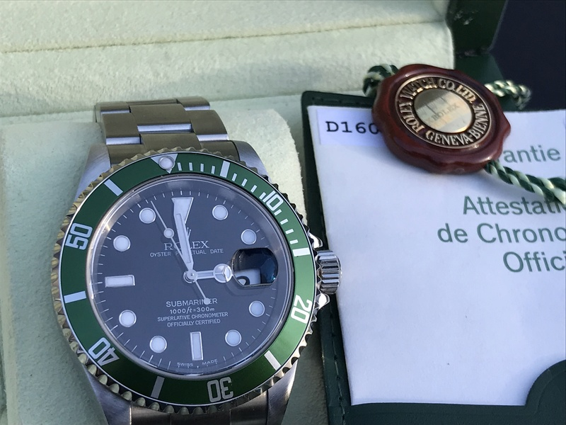 [VENDS] Rolex Submariner 16610 Lunette Verte  Img_5812