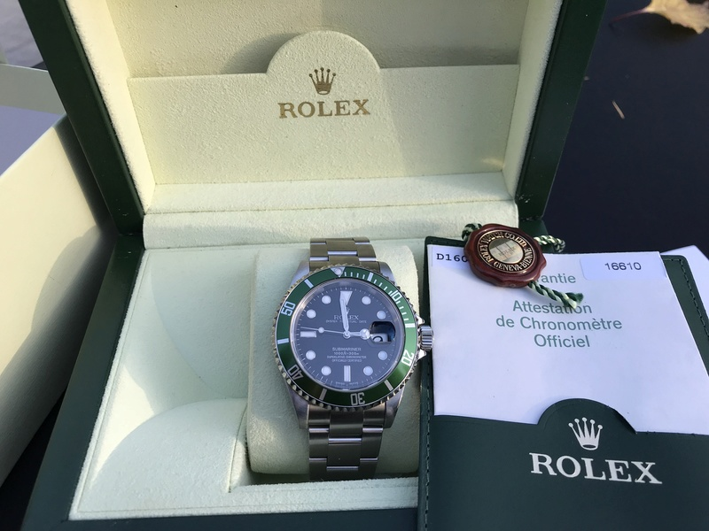 [VENDS] Rolex Submariner 16610 Lunette Verte  Img_5813