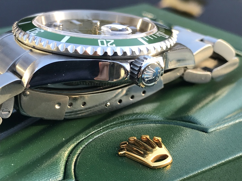 [VENDS] Rolex Submariner 16610 Lunette Verte  Img_5814
