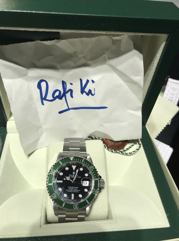 [VENDS] Rolex Submariner 16610 Lunette Verte  Img_5819