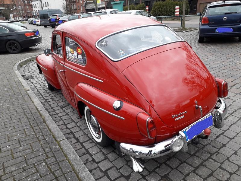 Ein alter Schwede (Volvo) in Stade. 20180411