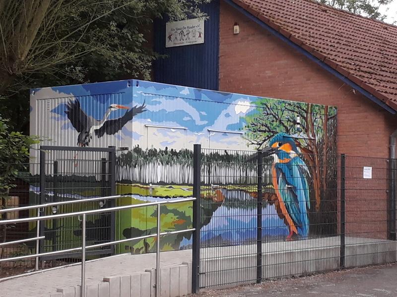 Anti Graffiti für Zweckgebäude 20180625