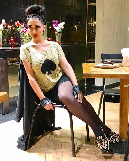صور ساميه طرابلسى 2018 - احدث صور ساميه طرابلسى بملابس قصيرة جريئه 2018 214