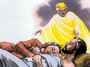 ♦ Apocalypse 12 : 4 : Le dragon veut dévorer l'enfant de la femme céleste 001-gn20