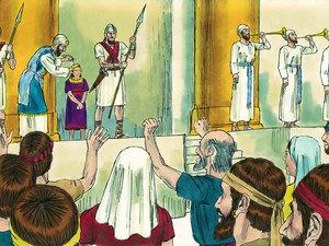 Apocalypse 9 : 13: La sixième sonnerie de trompette et la voix venant des 4 cornes de l'autel d'or 001-ki10