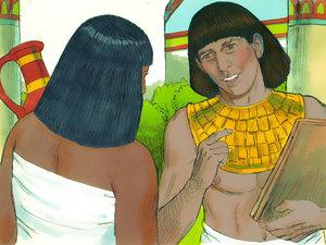 Moïse est l'envoyé de Dieu pour libérer les Israélites de l'esclavage 001-mo15