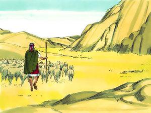 Moïse est l'envoyé de Dieu pour libérer les Israélites de l'esclavage 001-mo16