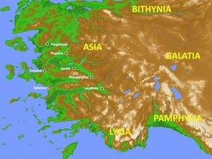 ♦ Apocalypse 1 : 11 : Les 7 Eglises d'Asie mineure. 001-se11