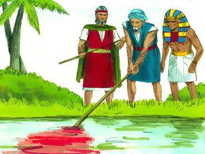 ♦ Apocalypse 8 : 7 : La première sonnerie de trompette 002-mo11