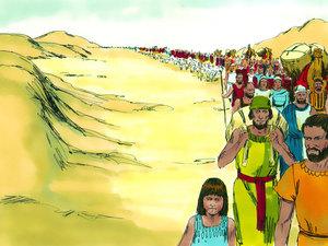 La libération des Israélites et la traversée miraculeuse de la mer rouge 002-mo22