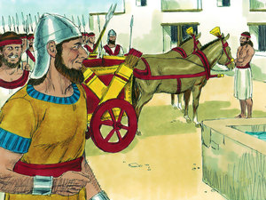 Apocalypse 9 : 13: La sixième sonnerie de trompette et la voix venant des 4 cornes de l'autel d'or 002-so10
