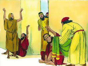 ♦ Apocalypse 11 : 3 : Deux témoins prophétisent pendant 1260 jours 003-es12