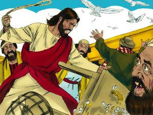 ♦ Apocalypse 11 : 2: Le parvis extérieur du temple 003-je14