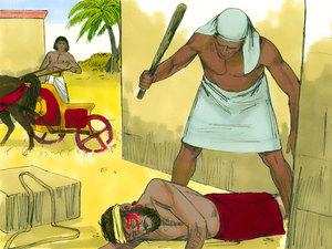 Moïse est l'envoyé de Dieu pour libérer les Israélites de l'esclavage 003-mo14