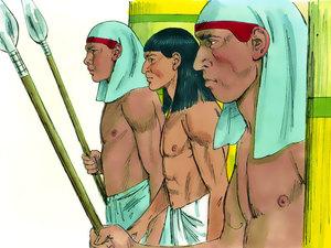 Le rêve prophétique du pharaon, Joseph intendant d'Egypte 004-jo15
