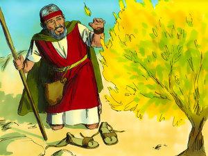 Moïse est l'envoyé de Dieu pour libérer les Israélites de l'esclavage 004-mo17
