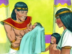 Le rêve prophétique du pharaon, Joseph intendant d'Egypte 005-jo16