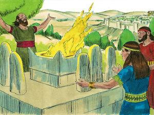 Apocalypse 9 : 13: La sixième sonnerie de trompette et la voix venant des 4 cornes de l'autel d'or 006-ki11