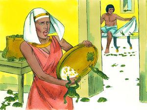 Moïse est l'envoyé de Dieu pour libérer les Israélites de l'esclavage 006-mo14