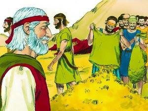 La construction par Moïse du sanctuaire dédié au culte de Jéhovah Dieu 006-mo15