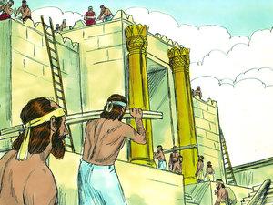 ♦ Apocalypse 11 : 1 : La mesure du temple et de l'autel 006-re10