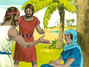 ♦ Apocalypse 7 : 9 : Les membres de la grande foule ont des palmes dans leurs mains 007-de10
