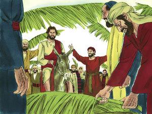 ♦ Apocalypse 7 : 9 : Les membres de la grande foule ont des palmes dans leurs mains 007-je10