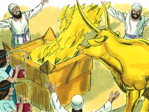 Apocalypse 9 : 13: La sixième sonnerie de trompette et la voix venant des 4 cornes de l'autel d'or 007-ki10
