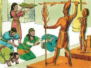 Apocalypse 9 : 13: La sixième sonnerie de trompette et la voix venant des 4 cornes de l'autel d'or 008-ki12
