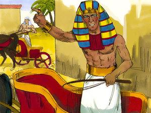La libération des Israélites et la traversée miraculeuse de la mer rouge 008-mo12