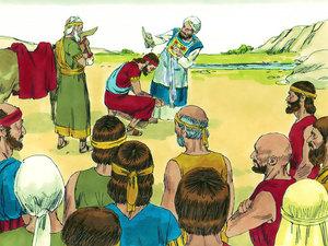 Apocalypse 9 : 13: La sixième sonnerie de trompette et la voix venant des 4 cornes de l'autel d'or 008-so10