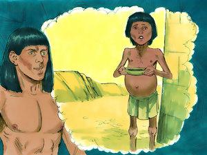 Le rêve prophétique du pharaon, Joseph intendant d'Egypte 009-jo15
