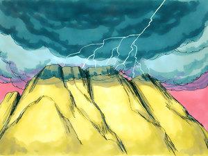 ♦ Apocalypse 9 : 2: La fumée qui monte du puits de l'abîme 009-mo10