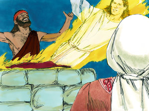 ♦ Apocalypse 5 : 11 : Les anges 009-sa10