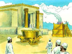 ♦ Apocalypse 11 : 2: Le parvis extérieur du temple 009-so10