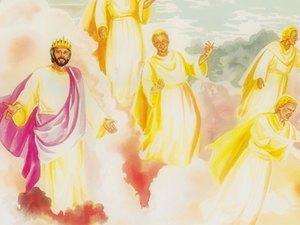 ♦ Apocalypse 12 : 4 : Le dragon veut dévorer l'enfant de la femme céleste 011-gn18
