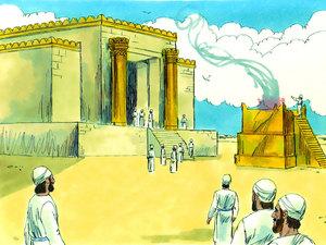 ♦ Apocalypse 11 : 1 : La mesure du temple et de l'autel 011-re10