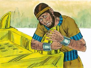 Apocalypse 9 : 13: La sixième sonnerie de trompette et la voix venant des 4 cornes de l'autel d'or 011-so10