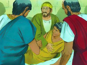 Le retour à la vie du fils de la veuve et d'Eutychus: entité immatérielle ou force vitale ? 012-pa10