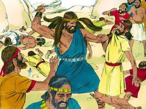 Apocalypse 8 : 10 : Les fleuves et les sources d'eau 012-sa10
