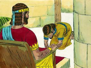 Apocalypse 9 : 13: La sixième sonnerie de trompette et la voix venant des 4 cornes de l'autel d'or 012-so10