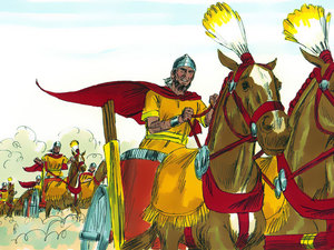 ♦ Apocalypse 9 : 16: Les troupes de cavalerie 013-de11