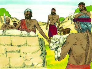 Moïse est l'envoyé de Dieu pour libérer les Israélites de l'esclavage 014-mo11