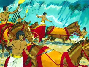 La libération des Israélites et la traversée miraculeuse de la mer rouge 016-mo14