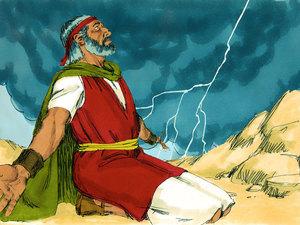 Dieu communique avec la nation d'Israël et lui transmet sa Loi 016-mo15