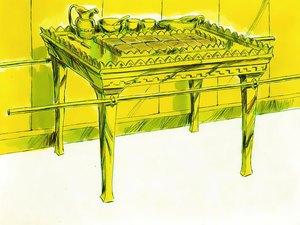 La construction par Moïse du sanctuaire dédié au culte de Jéhovah Dieu 017-mo12