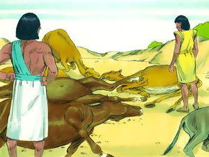 Moïse est l'envoyé de Dieu pour libérer les Israélites de l'esclavage 018-mo11